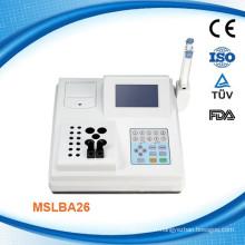 Semi-auto Analyseur de coagulation Machine à coagulation à double canal-MSLBA26W