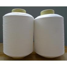 Gros coton mélange de fils de nylon