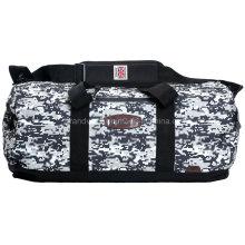 Huge Camouflage Duffel Bag with Custom Rubber Logo
