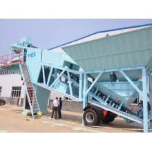 YHZS90 Mobile Concrete Batching Plantas para venda 90m3 / h