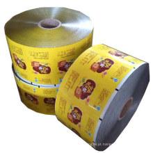 Rolo De Alimentos / Embalagem De Alimentos Filme / Snacks Embalagem Fim