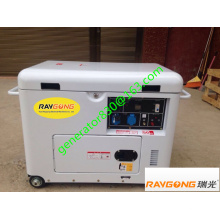 5KW Luftkühlung Dieselaggregat 100% Kupfer & Ausgang 230V einphasig