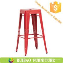 Cadeira de barril de metal industrial de alumínio para cozinha