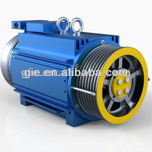 GSS-SM,0.63m/s Permanent Magnet Synchronous Gearless Elevator Motor