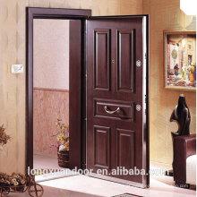 Painel personalizado Porta blindada, aço portas turcas portas de balanço externas