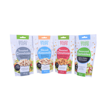 4OZ Customizable Printing Granola Packaging Stand Up Pouch