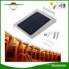 Двор Сад Стены Открытый Безопасности Свет Солнечной Энергии Датчик Лампы