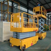 6-14m 200kg precio barato hidráulico potencia de batería elevador de tijera con certificación CE ISO