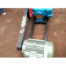 Pompe à savon de pétrole brut de pompe à lobe rotatif horizontale à haute viscosité LC