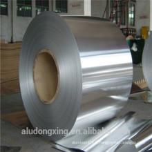 6,5 microns d'épaisseur Feuille d'aluminium pour l'emballage des cigarettes Paiement Asie Alibaba Chine
