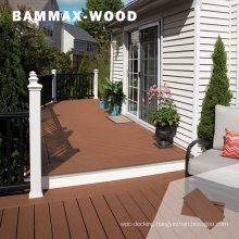 Allweather Resistant Solid WPC Decoration Material Wholesale Composite Decking