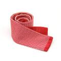 Polyester-gestrickte Hals-Bindung der Polyester-100% der Normallack-Männer
