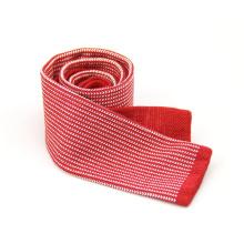 Online-Shopping gemischte Muster Volltonfarbe Strick Krawatte für Geschäftsleute