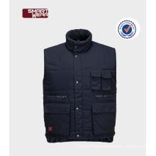 mens cool top quality winter workwear vest safety vest