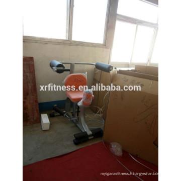 équipement de gymnastique nomme la machine rotatoire de torse avec le cylindre hydraulique