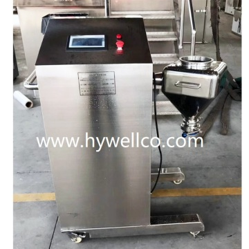 5L Laboratorium Cone Bentuk Dry Powder Mixer