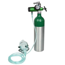 0.3L Small Oxygen bottle,Oxygen cylinder for aluminum medical cylinder