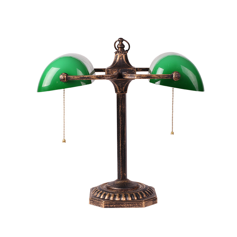 Green Bedside Table Lamps