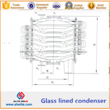 Glass Lined Condensator - Glass Lined Chemical Condenser