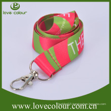 Promotional gift lanyards with plastic buckle clip