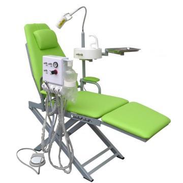 Silla plegable dental portátil