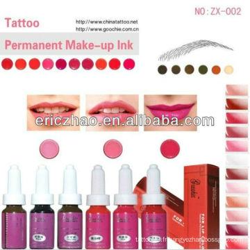 Goochie Permanent Makeup Tattoo Pigment / Encre