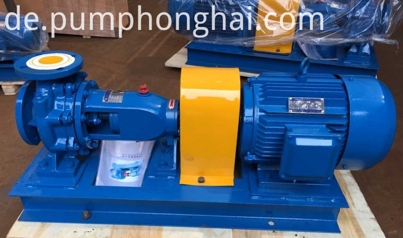 Single Stage Turbine Water Delivery Pump 2