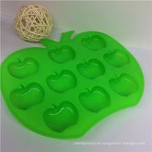 FDA Certifications Apple Shape Siliocne Ice Mold