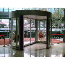 Puerta giratoria automática de 2 alas