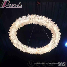 2016 New Design Round Crystal Decorative pendant Lamp with Lobby