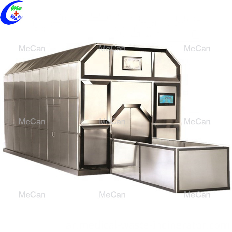 High efficiency crematory