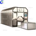 Máquina de cremação em aço inoxidável para combustível ou gás