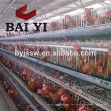 Faltender Hühnerkäfig drei Schichten vier Schichten Hühnerkäfig exportierend