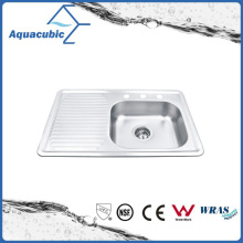 Affordable Stainless Steel Moduled Sink (ACS8050CR)