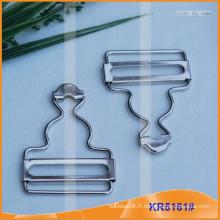 Boucle de ceinture et boucle de cajou métallique KR5161