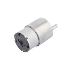 DC 12V 50RPM High Torque Electric Micro Speed Reduction Geared Motor Eccentric Output Shaft 37mm Diameter Gearbox
