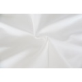100% Polyester Bettlaken Regular Optical Calendered White