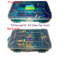 Zwei-Klassen-Tattoo Maschine Reparatur Teile Kit