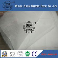 Fábrica de China para ofrecer aire caliente a través de la tela no tejida para el uso de pañales para bebés o toallas sanitarias