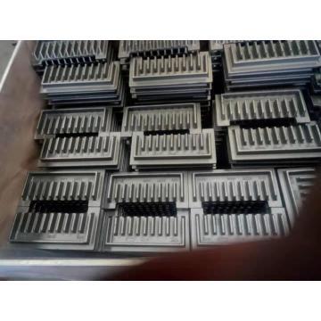 Barra de rejilla de piezas de fundición de calderas industriales de planta de energía