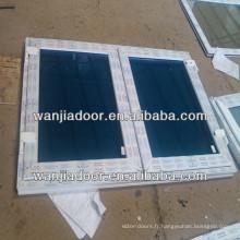 upvc balancent des fenêtres à battants / pvc balancent des fenêtres en verre trempé