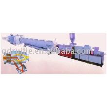 Línea de producción de tubo de pared sólida de PA/PP/PE