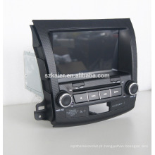 Leitor de dvd do carro do núcleo do quad com gps, wifi, BT, relação do espelho, DVR, SWC para o outlander de Mitsubishi 2006-2011