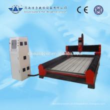 Máquina de Jinan pedra gravura cnc router para mármore granito 1300 * 2500mm com trilho de guia quadrado linear PMI