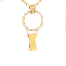 Floating charm locket for badge holder, fairy door locket pendant, opal locket