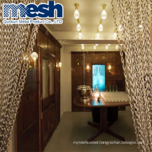 Chain link wire mesh curtain decoration metal mesh