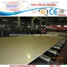 Linha de extrusão de placa de espuma para móveis rígidos de PVC Celuka 3-20mm