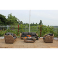 Unique and Exclusive Design Water Hyacinth Sofa Set Indoor Living Set Furniture