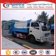 Dongfeng 4X2 10CBM vehículo del compactador de la basura para la venta