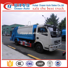 Dongfeng 4X2 10CBM garbage compactor vehicle for sale